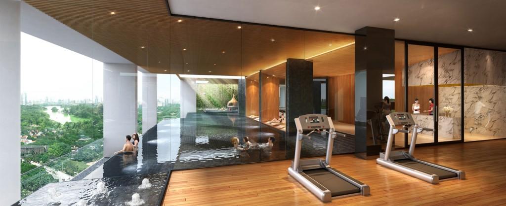 Rosehill Residences Pool (Artist's Impression)